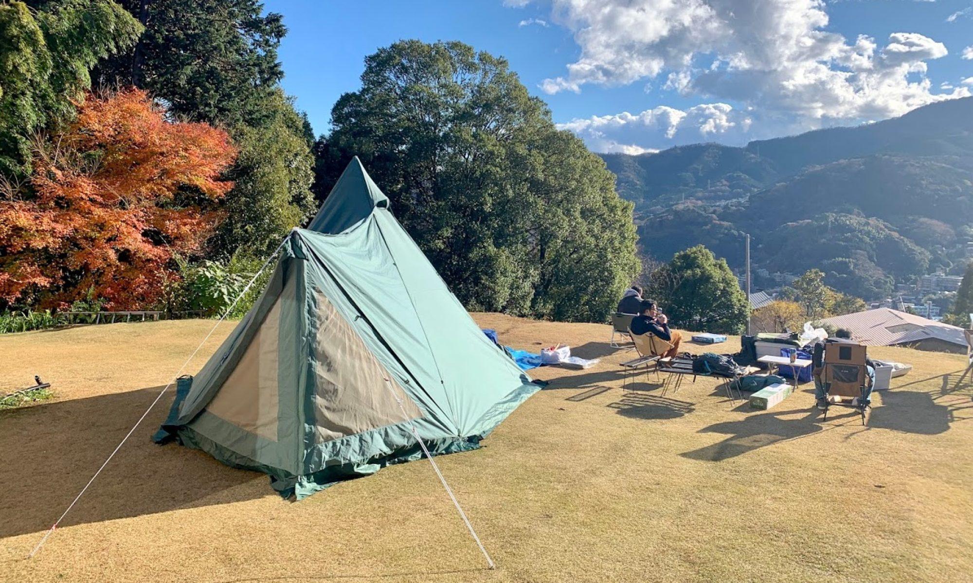 湯河原温泉神谷キャンプ場